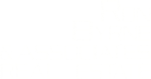 Ron Byrne and Associates Vail Valley Real Estate logo on transparent background