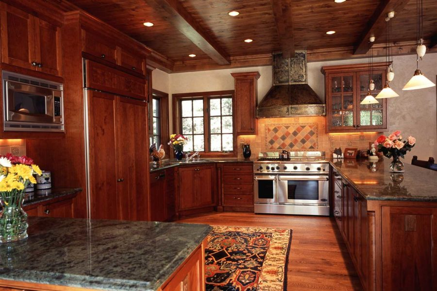 Kitchen at 387/381 Beaver Dam, Vail, Colorado