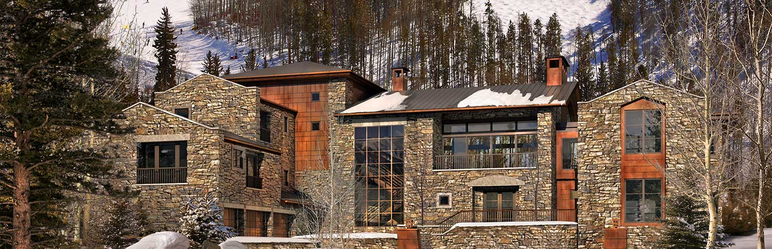 Exterior view at 446 Forest Road, Vail, Colorado