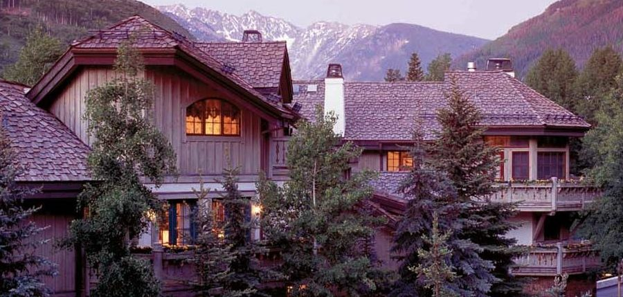 Exterior view 44 Willow Road, Vail, Colorado