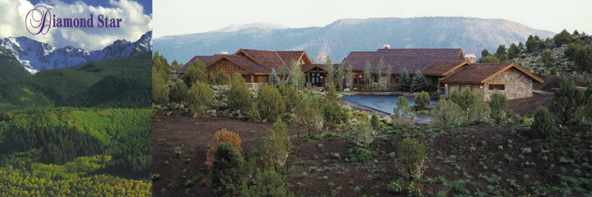 Exterior views at Diamond Star Ranch, Vail, Colorado