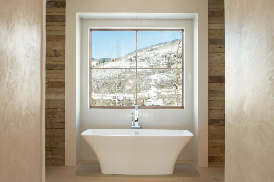 446 Forest Road, Vail, Colorado residence bathroom view
