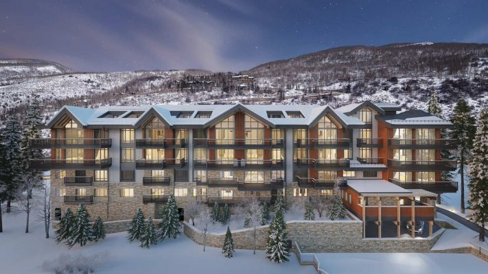 Altus Vail Penthouse 401: Outside View of building