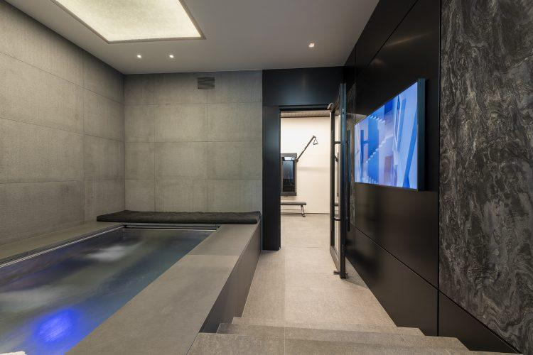 Spa area at 463 Beaver Dam Road in Vail