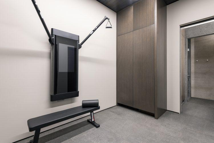 Minimal Exercise room at 463 Beaver Dam Road in Vail