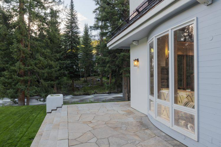 Stone Patio at Vail's 4249 Nugget Lane