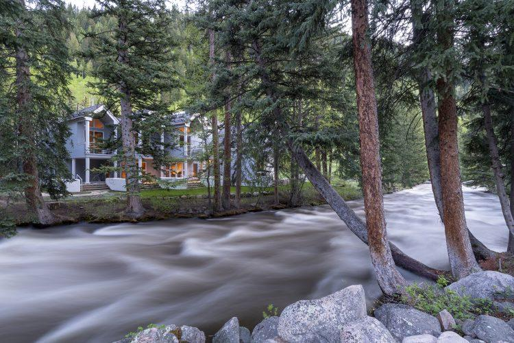 River outside Vail's 4249 Nugget Lane