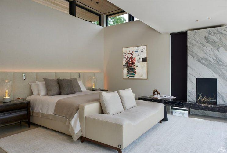 165 Forest Road on Vail Mountain: bedroom with skylights