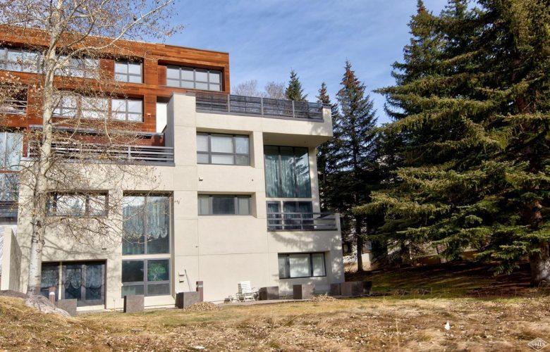 building exterior at 44 Meadow Drive in Vail Village