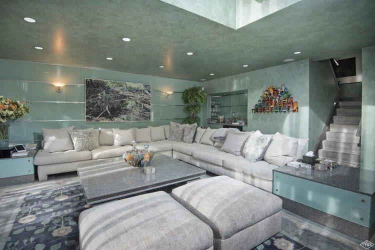 living room and sectional sofa at 44 Meadow Drive in Vail Village