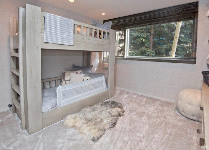 bunk beds at 44 Meadow Drive in Vail Village