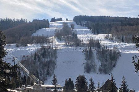 ski slopes and sinshine at 292 Meadow Drive in the heart of Vail Village