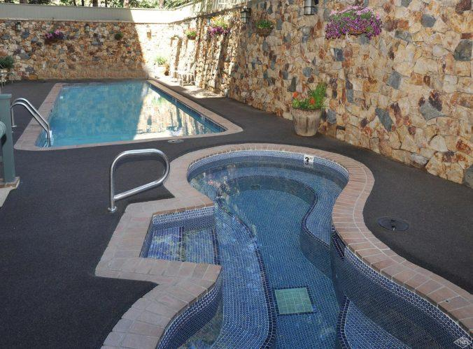 swimming pools at 292 Meadow Drive in the heart of Vail Village