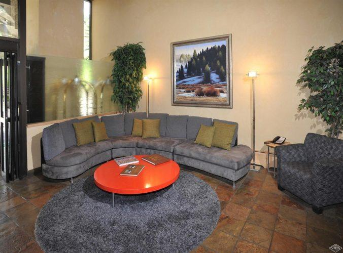 living area at 292 Meadow Drive in the heart of Vail Village