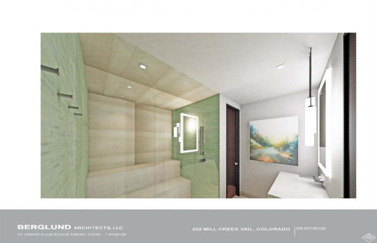 Berglund Architects interior: 332 Mill Creek in Vail, CO