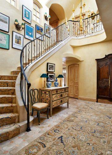 stairwell at 362 Mill Creek Circle in Vail