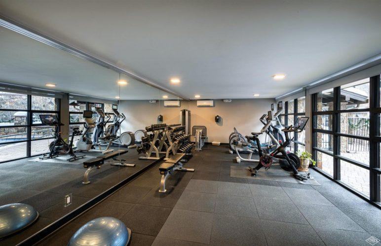 exercise room at 600 Vail Valley Drive