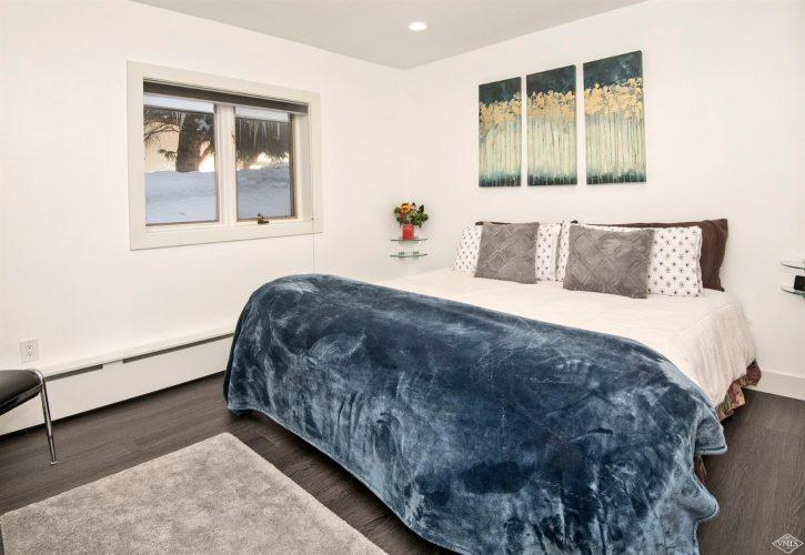 bedroom at 133 Willow Bridge Road in the heart of Vail Village