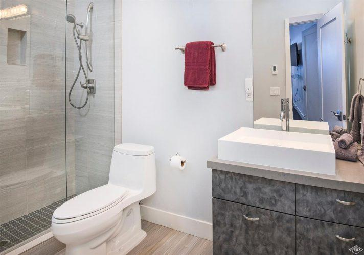 bathroom at 133 Willow Bridge Road in the heart of Vail Village